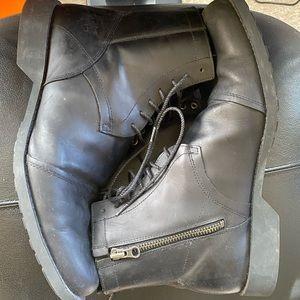 Timberland Side Zip Up Dress boots Sz 11.5